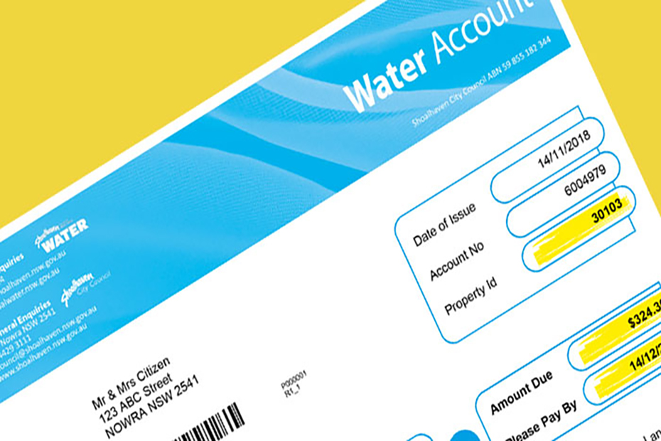 Your Water Account